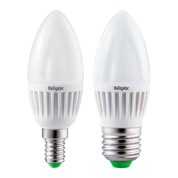 Светодиодная (LED) лампа Navigator 71 293 NLL-C37-5-230-2.7K-E14-CL(Professional)