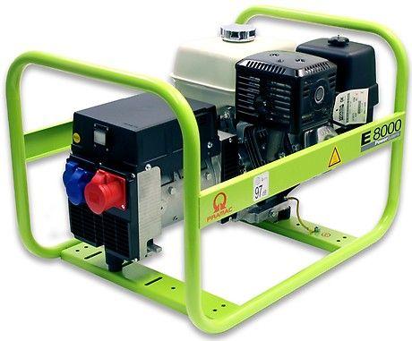 Бензиновый генератор Pramac  E8000, 400/230V, 50Hz