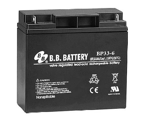Аккумуляторная батарея B.B.Battery BP 33-6