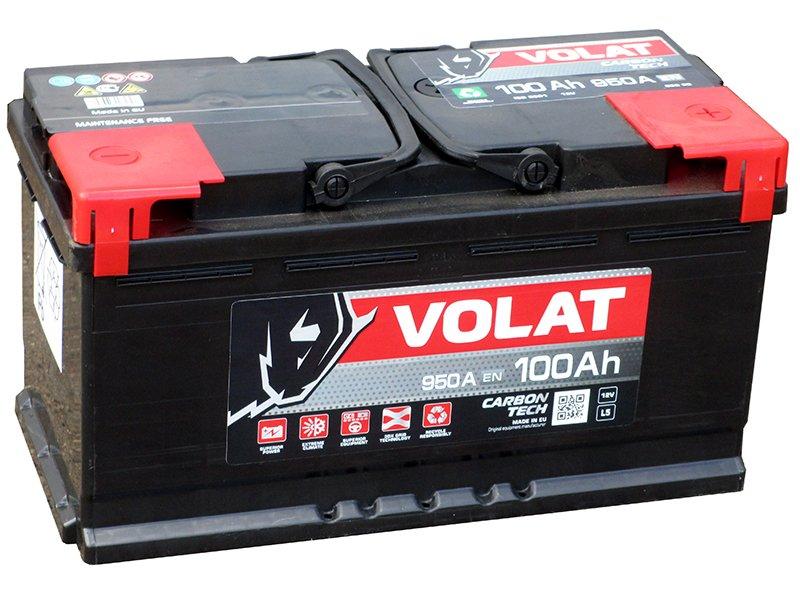 Аккумуляторная батарея VOLAT Truck Line 100 R+