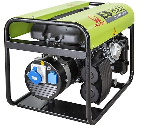 Бензиновый генератор Pramac  ES8000, 230V, 50Hz