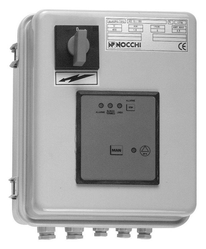 Устройство управления и защиты Nocchi Q.EL AT 10-16A/400V