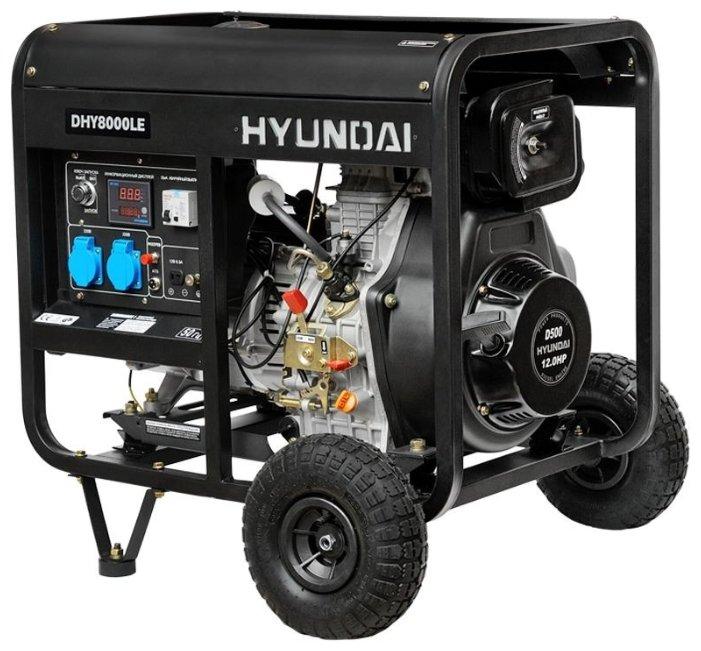 Дизельный генератор HYUNDAI DHY8000 SE-3