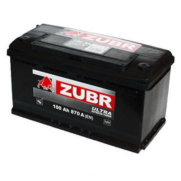 Аккумуляторная батарея ZUBR Ultra 100 R+