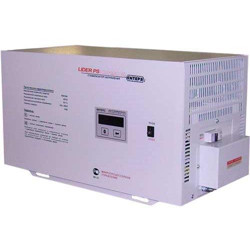 Однофазный стабилизатор напряжения LIDER PS 12000 W-50