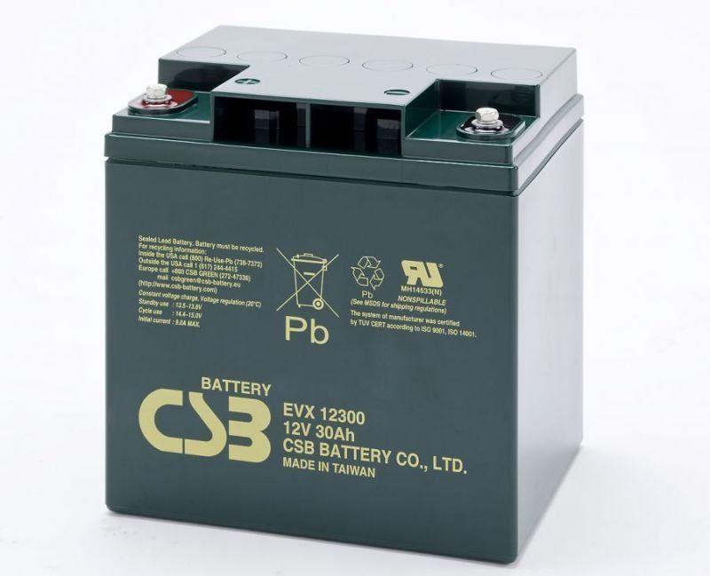 Аккумуляторная батарея CSB EVX 12300