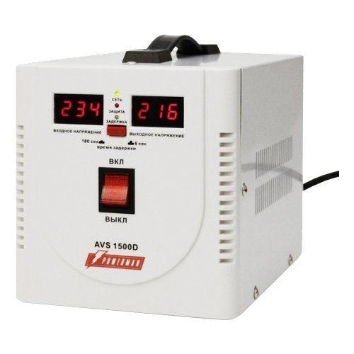 Однофазный стабилизатор напряжения POWERMAN AVS 1500D