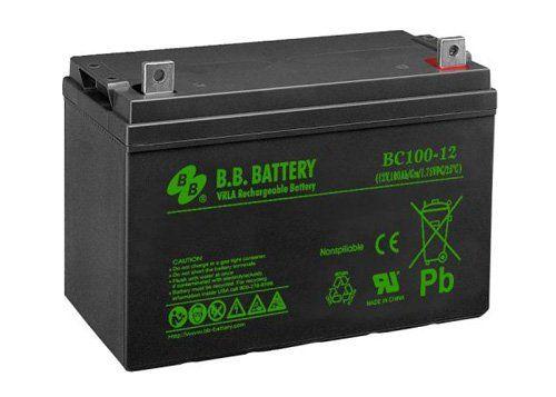 Аккумуляторная батарея B.B.Battery BC 100-12