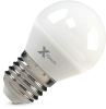 Светодиодная (LED) лампа X-Flash Globe E27 G45 P 5W(5вт),желтый свет 3000K,световой поток 380лм, 12V (45891)