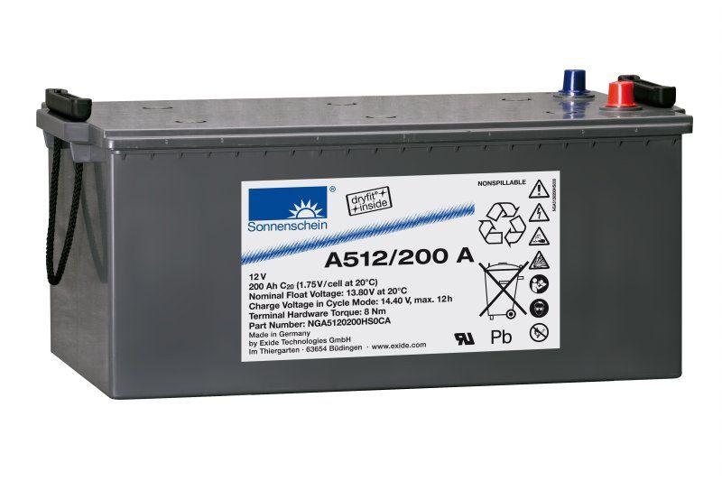 Аккумуляторная батарея SONNENSCHEIN A 512/200.0 A