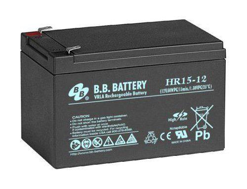 Аккумуляторная батарея B.B.Battery HR 15-12