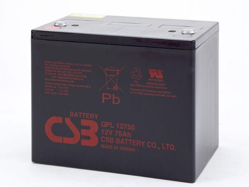 Аккумуляторная батарея CSB GPL 12750