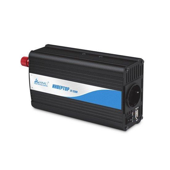 Инвертор SVC BI-500, 500Вт, 220В, 50Гц, 3 мс, чёрный, 220*155*60 мм