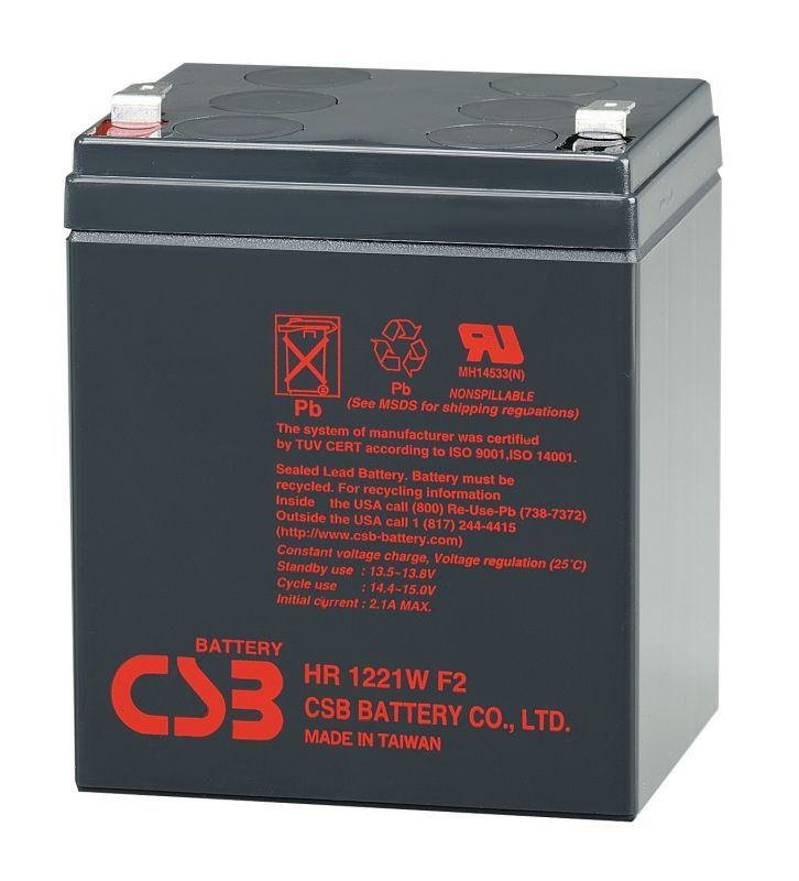 Аккумуляторная батарея CSB HR 1221 W