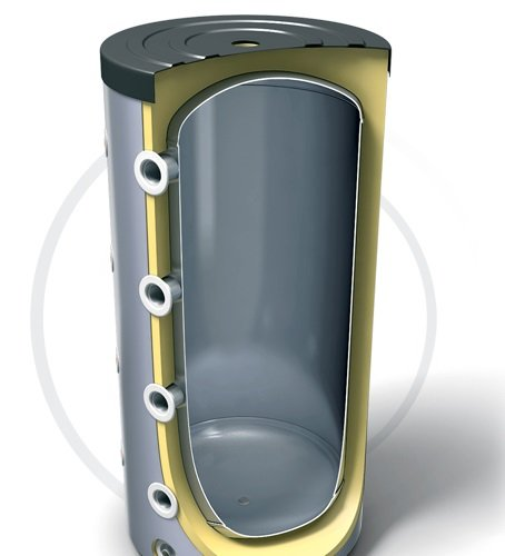 Буферная емкость для нагревательной установки TESY V 1500 120 F45 P4