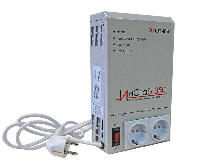 Стабилизатор переменного напряжения Штиль инверторный ИнСтаб 350  350 ВА / 300 Вт