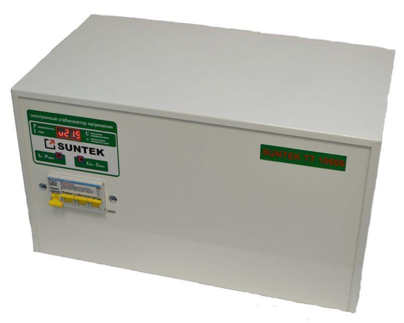 Стабилизатор напряжения тиристорный (симисторный) SUNTEK ТТ 15000 НН пониженного напряжения 85-265 Вольт