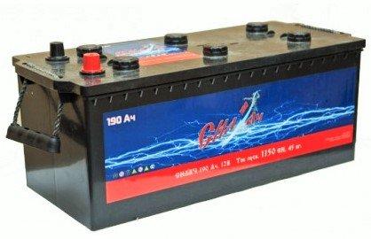 Аккумуляторная батарея Силач СИЛ 190Ач EN1150А о.п. (513х223х223, B00, ПК)
