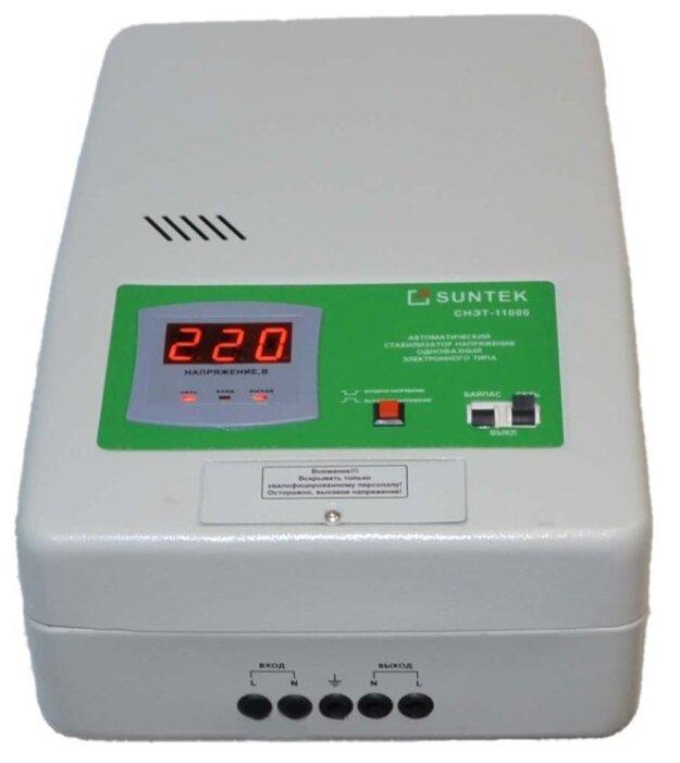 Стабилизатор напряжения однофазный SUNTEK СНЭТ-11000