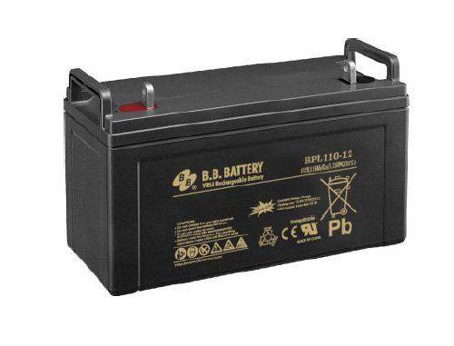 Аккумуляторная батарея B.B.Battery BPL 110-12