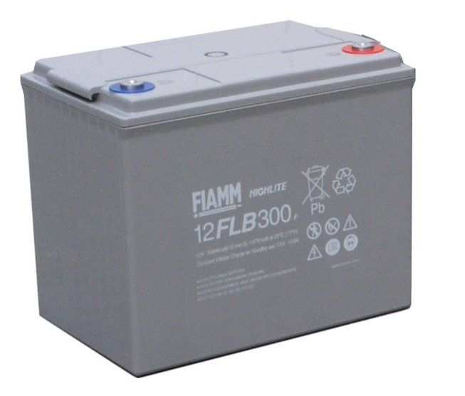 Аккумуляторная батарея FIAMM 12 FLB 300 P