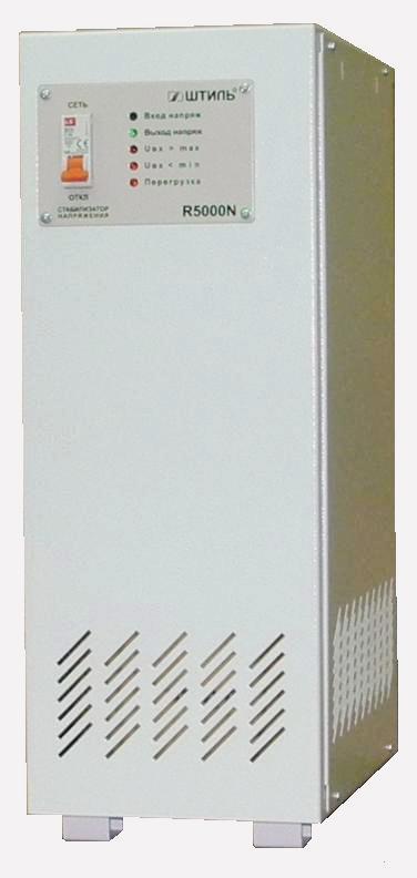 Однофазный стабилизатор напряжения ШТИЛЬ R 5000N