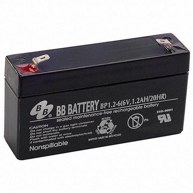 Аккумуляторная батарея B.B.Battery BP 1,2-6