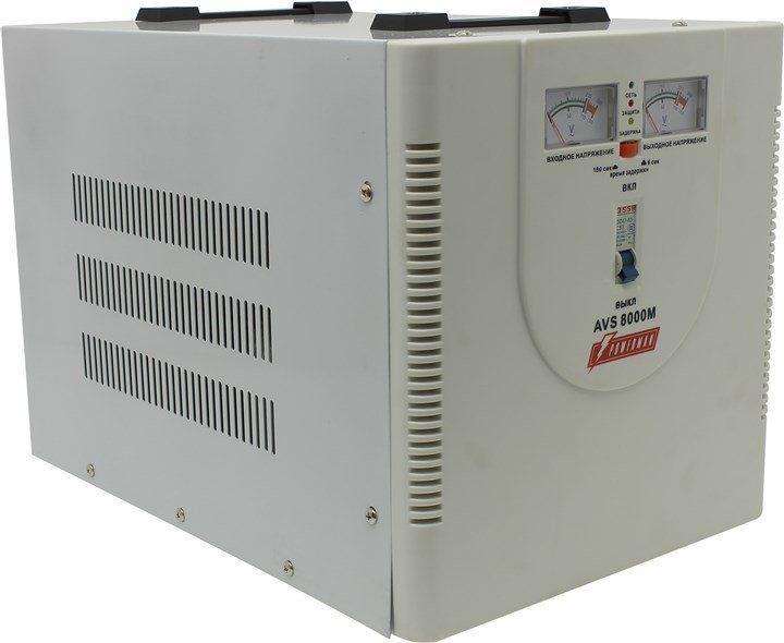 Однофазный стабилизатор напряжения POWERMAN AVS 8000M