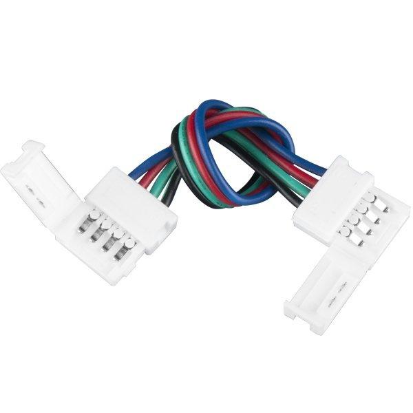 Аксессуары для светодиодной ленты Elektrostandard Коннектор для RGB светодиодной ленты гибкий двусторонний
