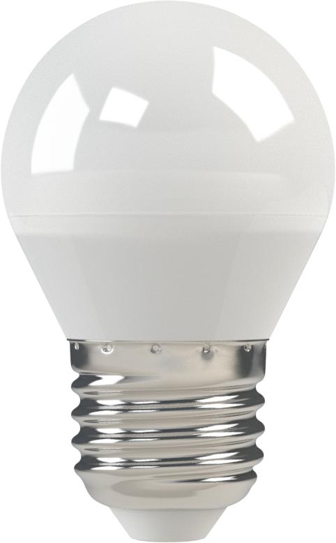 Светодиодная (LED) лампа X-Flash Globe E27 5W(5вт),белый свет 4000K,световой поток 380лм,  220V(в) (44894)