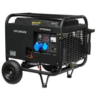Однофазный бензиновый генератор HYUNDAI HY9000