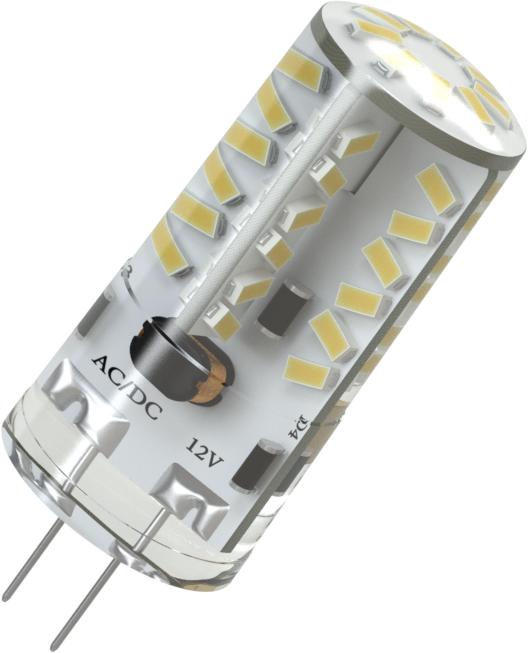 Светодиодная (LED) лампа X-Flash Finger G4 3W(3вт),желтый свет 3000K,световой поток 210лм, 12V(в) (45495)