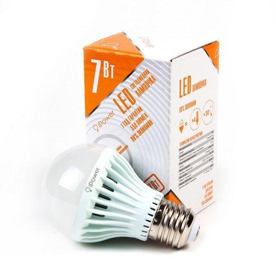LED Лампа iPower IPHB7W2700KE27