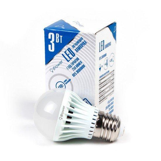 LED Лампа iPower IPHB3W4000KE27