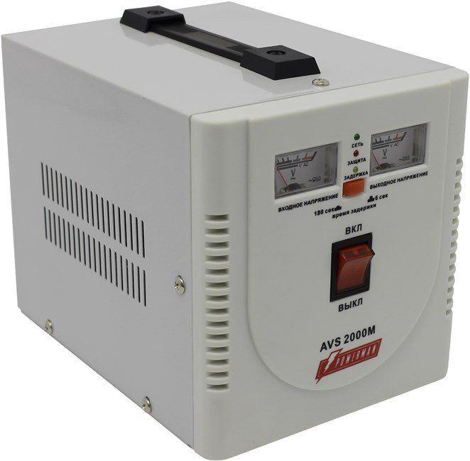 Однофазный стабилизатор напряжения POWERMAN AVS 2000M