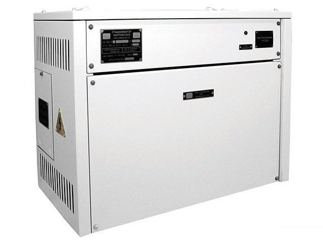 Трехфазный стабилизатор напряжения СТС-3-63-380-А-У3