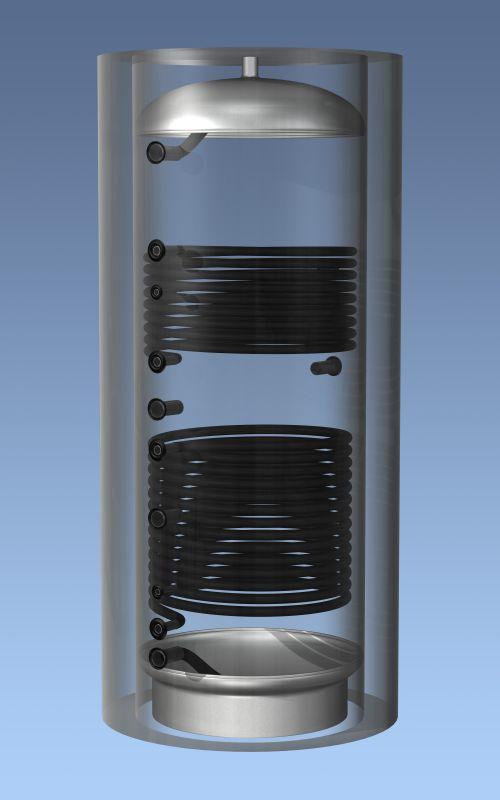 Буферные накопители Haidu AQ PT 1000 C2 без изоляции