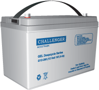 Тяговые АКБ Challenger G12-80