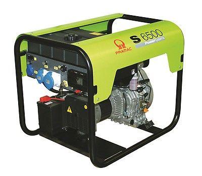 Дизельный генератор Pramac S6500 (24L), 230V, 50Hz #CONN #DPP