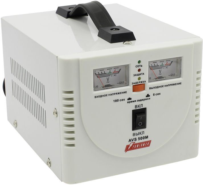 Однофазный стабилизатор напряжения POWERMAN AVS 500M