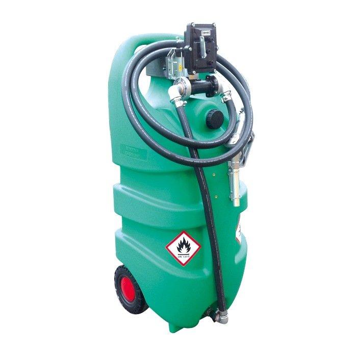 Мини АЗС Emiliano Serbatoi  Emilcaddy 110 бензин, ручной поршневой насос (EMILCADDY110BATEXADR)