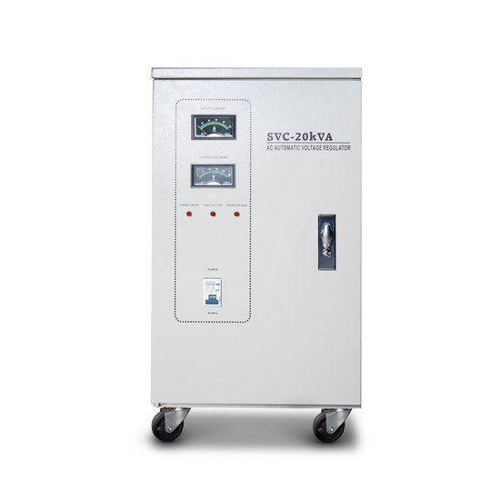 Стабилизатор SVC-3-20000, 20000ВА / 16000Вт, 380В, 45-60 Гц, 405*380*832 мм
