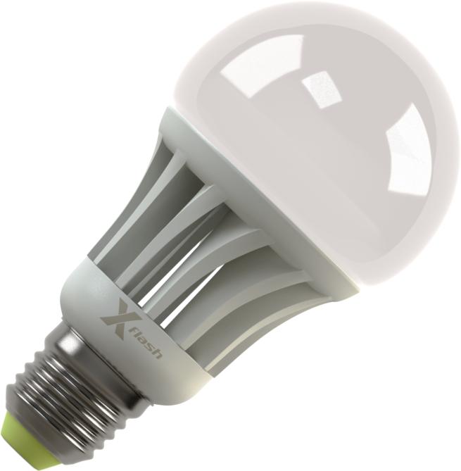 Светодиодная (LED) лампа X-Flash Globe E27 12W(12вт),желтый свет 3000K,световой поток 1000лм  (42975)