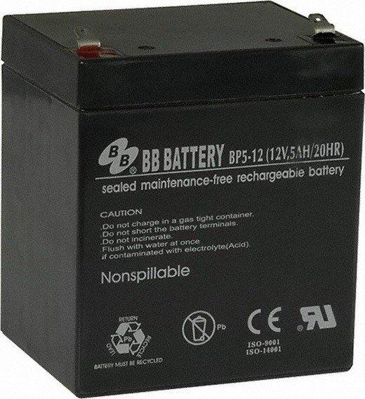 Аккумуляторная батарея B.B.Battery BP5-12