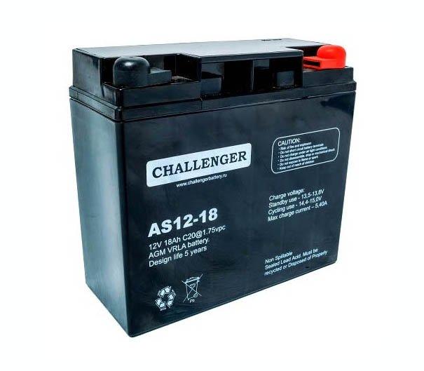 Аккумуляторная батарея Challenger AS12-18E1