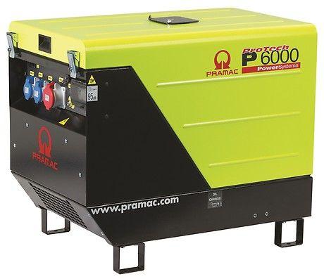 Дизельный генератор Pramac P6000, 400/230V, 50Hz #AVR #IPP