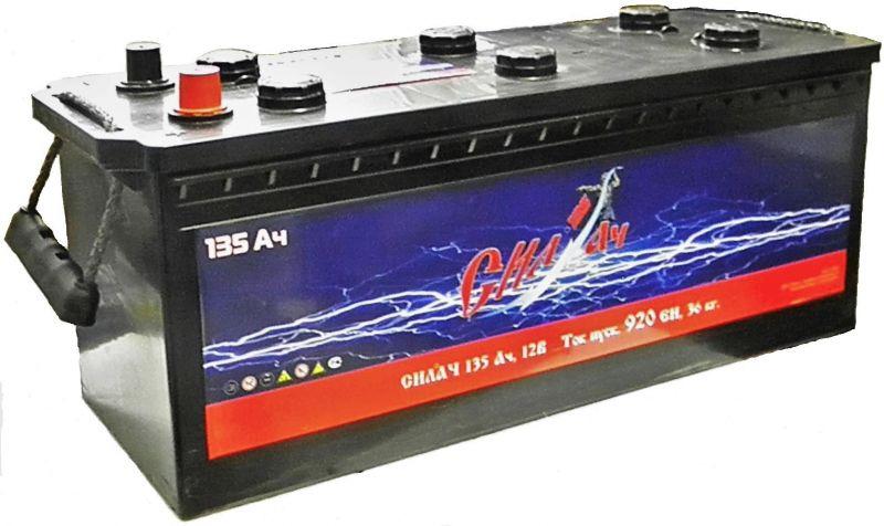 Аккумуляторная батарея Силач СИЛ 135Ач EN920А о.п. (513х189х223, B00, ПК)