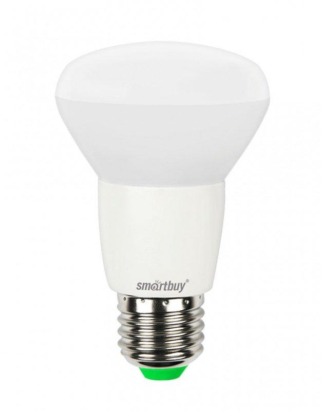 Светодиодная (LED) Лампа Smartbuy-R63-06W/3000/E27 (SBL-R63-06-30K-E27)