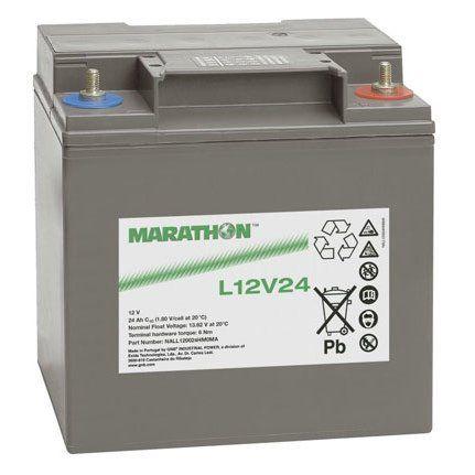 Аккумуляторная батарея MARATHON L 12V 24