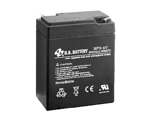 Аккумуляторная батарея B.B.Battery BP 8-6